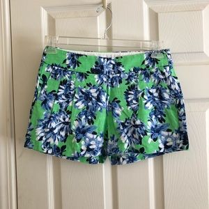 J. Crew floral printed shorts size 0